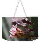 Cereus Hexagonus Pink Weekender Tote Bag