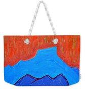 Cerro Pedernal Original Painting Sold Weekender Tote Bag