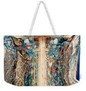 Cervical Spinal Cord, Posterior View Weekender Tote Bag