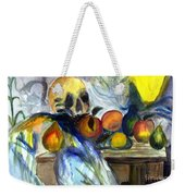 Cezanne Still Life With Skull Weekender Tote Bag