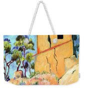 Cezanne's House With Cracked Walls Weekender Tote Bag