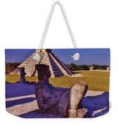 Chac Mool And Kukulkan Weekender Tote Bag