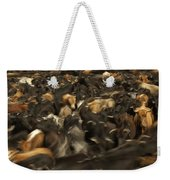 Chagras Round-up Cattle Ecuador Weekender Tote Bag