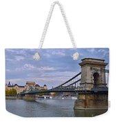 Chain Bridge Weekender Tote Bag