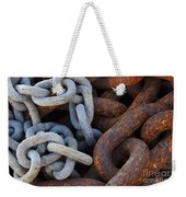 Chain Links Weekender Tote Bag