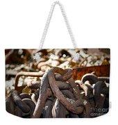 Chain Picking Weekender Tote Bag