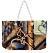 Chained Weekender Tote Bag