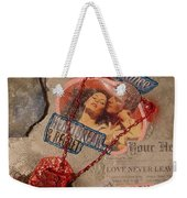 Chains Of Love Weekender Tote Bag