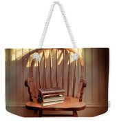 Chair And Lace Shadows Weekender Tote Bag