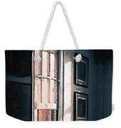 Chair In A Blue Corner Weekender Tote Bag