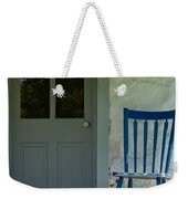 Chair On Farmhouse Porch Weekender Tote Bag