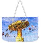 Chairoplane Waveswinger Weekender Tote Bag