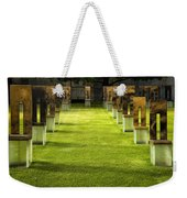 Chairs And Memories Weekender Tote Bag