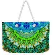 Chakra Mandala Healing Art By Sharon Cummings Weekender Tote Bag