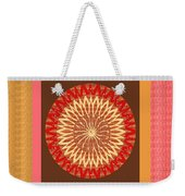 Chakra Mandala With Crystal Stone Healing Energy Plates By Side  Navinjoshi Rights Managed Images Fo Weekender Tote Bag