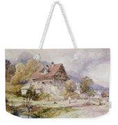 Chalet, Brunnen, Lake Lucerne Weekender Tote Bag
