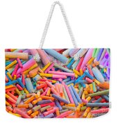 Chalk Colors Weekender Tote Bag