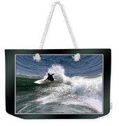 Challenge Yourself-surf Weekender Tote Bag