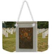 Challenger Space Shuttle Memorial Weekender Tote Bag