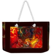 Challenges And Moments In Time Abstract Healing Art Weekender Tote Bag