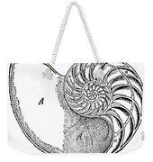 Chambered Nautilus Weekender Tote Bag