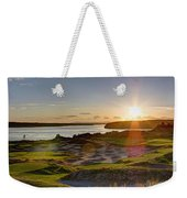 Chambers Bay Sun Flare - 2015 U.s. Open  Weekender Tote Bag