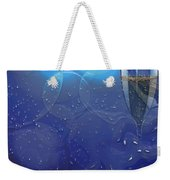 Champagne Blue  Weekender Tote Bag by Liane Wright