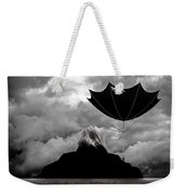 Chance Of Rain   Broken Umbrella Weekender Tote Bag
