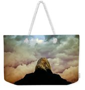 Chance Of Rain First Panel  No Umbrella Weekender Tote Bag