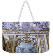Chandelier Inside Chateau De Chantilly Weekender Tote Bag