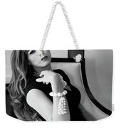 Chanel Chanel Bw Palm Springs Weekender Tote Bag