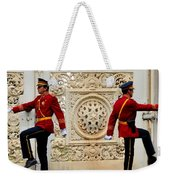 Change Of Guards Ceremony Dolmabahce Istanbul Turkey Weekender Tote Bag