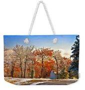 Change Of Seasons Weekender Tote Bag by Lois Bryan