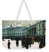 Changing Of The Guard At Amalienborg Palace Weekender Tote Bag
