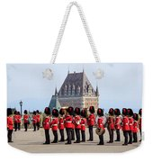 Changing Of The Guard The Citadel Quebec City Weekender Tote Bag