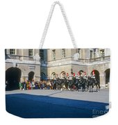 Changing Of The Horse Guard  Weekender Tote Bag