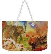 Changing Of The Seasons - Square Format Weekender Tote Bag
