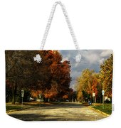 Changing To Fall Colors In Dwight Il Weekender Tote Bag