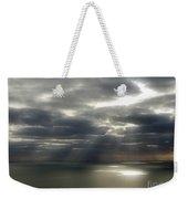 Channel Sunburst Weekender Tote Bag