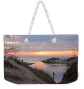 Channel Sunset Weekender Tote Bag