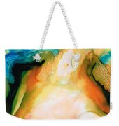 Channels - Abstract Art By Sharon Cummings Weekender Tote Bag