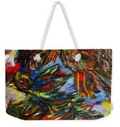 Chaos In Flight Weekender Tote Bag