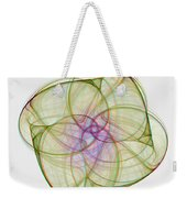 Chaoscope Abstract 3d Stereo - Use Red-cyan Filtered 3d Glasses Weekender Tote Bag