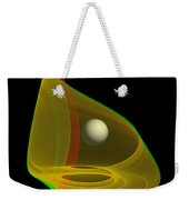 Chaoscope Abstract - Use Red-cyan Filtered 3d Glasses Weekender Tote Bag
