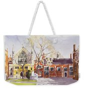 Chapel And Hall  Lincoln's Inn Weekender Tote Bag