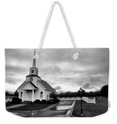 Chapel At Four Winds In Conway Arkansas Weekender Tote Bag