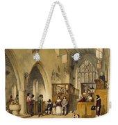 Chapel At Haddon Hall, Derbyshire Weekender Tote Bag