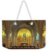 Chapel At Notre Dame Cathedral Verdun Weekender Tote Bag