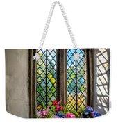 Chapel Flowers Weekender Tote Bag