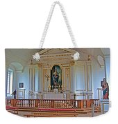 Chapel In King's Bastion In Louisbourg Living History Museum-174 Weekender Tote Bag